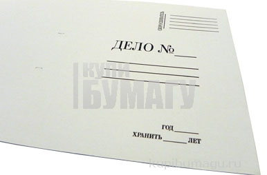 Папка обложка Дело 380г/м2 мелов. 200шт. /уп