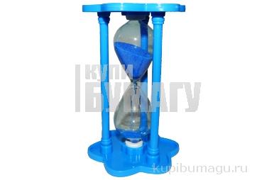 """Часы песочные 718 """"Время"""", 12 см, пластик+стекло /1 /0 /120"""