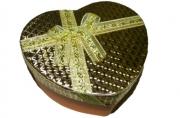 "Коробка подарочная 15470 ""Сердце"", 12*5, 5 см, цв. асс /6 /0/360"