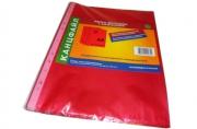 Папка файл-вкладыш А4 35мкм Канцфайл 100шт. /уп. красный