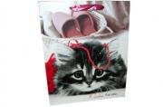 "Пакет подар. бумага 4558 ""Котейка"" 42*31*12 /12 /0/360"