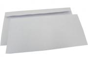 Конверт Белый (Е65 стрип, 110*220 80г Пинья) 1000шт/уп