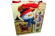 """Пакет подар. бумага 5991-2 """"Новый год"""", 26х32х12, асс /12 /0 /480 /0"""