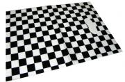 Пакет с прорубной ручкой 6042-3 Шахматы, 35*45см, целлофан /50 /0 /2500 /0