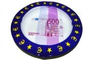 Пепельница металическая 500 евро