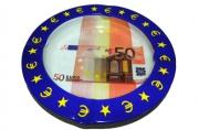 Пепельница металическая 50 евро