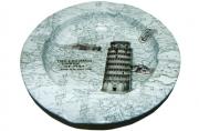 Пепельница металическая Пизанская башня