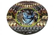 Пепельница металическая Тигр