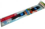 Стержни 134 синие набор 3шт+1 красный в подарок, 142мм, 0, 7, д/ручки 927 /120 /0 /1200 /0
