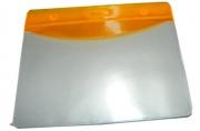 Бейдж Т-090 пластик, 85*55см, оранжевая вставка J. Otten /10 /100 /2000 /0