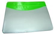 Бейдж Т-090 пластик, 85*55см, зеленая вставка J. Otten /10 /100 /2000 /0