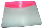 Бейдж Т-090 пластик, 9, 5*5, 5см, красная вставка J. Otten /10 /100 /2000 /0