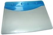 Бейдж Т-090 пластик, 85*55см, синяя вставка J. Otten /10 /100 /2000 /0