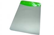 Бейдж Т-091вертикальный пластик, 74*104см, зеленая вставка J. Otten /10 /100 /2000