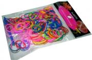 Набор Плетение из резинок 9495, 200шт, цветные, крючок /20 /0 /2400