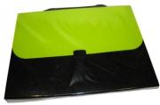 """Папка-портфель 7041 """"Фукси"""", пластик, 33*23, 5*7см, цв. асс J. Otten /1 /15 /60"""