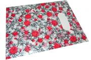Пакет с прорубной ручкой 123-1, Розы, 20*25см, целлофан J. Otten /100 /1000 /200 /0