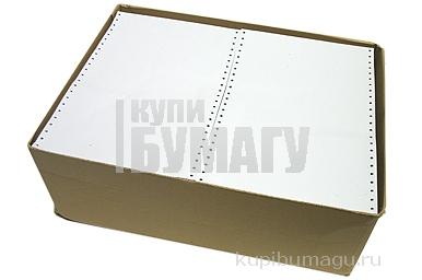 Перфорированная бумага 420мм (1-сл., шаг 12, белизна 95%) 1220м/кор