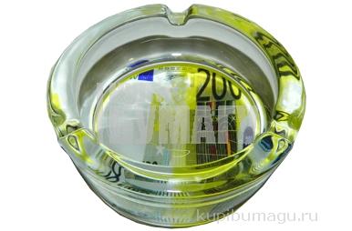 Пепельница стеклянная 200 евро