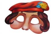 Маска 6267 Паж, цена за 1 маску, бумага /6 /240 /3600 /0