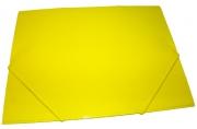 Папка на резинке 5037-4 желтая, А4, картон J. Otten /10 /0 /480