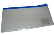 Папка на молнии 5038-А6,  (8038-2) 120мкр, прозрачная, цв. асс J. Otten /10 /0 /320