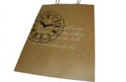 "Пакет подар. бумага 4776-1 ""Крафт с рисунком"", 26, 6*35*11, 4см J. Otten /12 /0 /28"