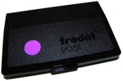 Штемпельная подушка, фиолетовая, разм. 9х5 см,  (TRODAT)