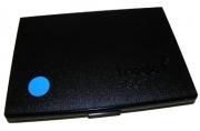 Штемпельная подушка синяя  11*7см
