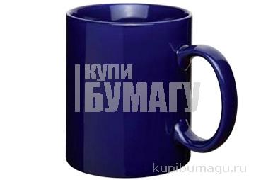 Кружка БОЛЬШАЯ Н-12, 5 см синяя ЭВРИКА