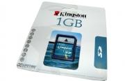 Носители информации Карта памяти Kingston SD /1GB (Secure Digital Card )