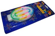 Свеча для торта нумерологическая 0, разноцветная, 7см,  (ACTION!)