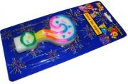 Свеча для торта нумерологическая ЗНАК ВОПРОСА, разноцветная, 7см,  (ACTION!)