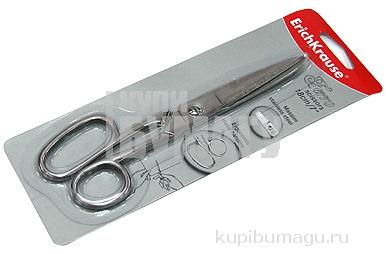 Ножницы 180мм металл Ferro серебряный