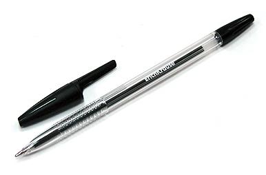 ручка шар черная R-301