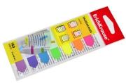 Закладки клейкие пластик 44*12мм, 20л*7 неоновых цветов, е/п ERICH KRAUSE 31179