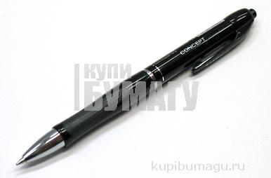 ручка шариковая автоматическая MEGAPOLIS CONCEPT, черный