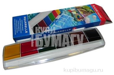 краски акварельные Erich Krause Maxi 6 цветов
