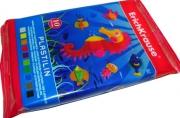 пластилин 10 цветов/15г, в запечатке разноцветный