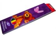 карандаши 6цв Бемби разноцветный