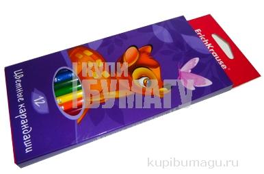 карандаши 12цв Бемби разноцветный