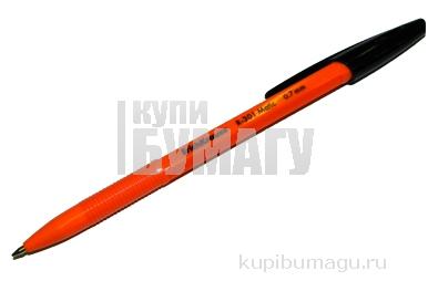 ручка шариковая автоматическая R-301 MATIC Orange черный