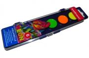 краски акварельные Erich Krause Neon 6 цветов