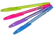 "Ручка ""R-301 Grip Spring"" син 0. 7/140мм корп тонир асс ERICH KRAUSE 39532"