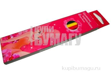 карандаши 6цв Tink Pink разноцветный