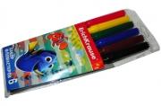 фломастеры 6цв Dory разноцветный