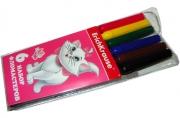фломастеры 6цв Cat Marie разноцветный
