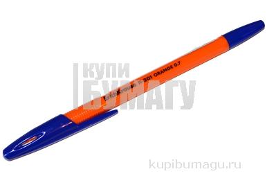 ручка шар синяя R-301 orange 0. 7мм, ш/к