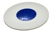 "Ластик ERICH KRAUSE ""Smart Oval"", овальный, 57х34х13 мм, белый, пластиковый держатель, дисплей, 455"