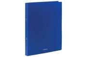 """Папка на 2 кольцах ERICH KRAUSE """"Classic"""", 24 мм, синяя до 130 листов, 0,5 мм,"""